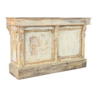 Late 19th Century Patinated Store Counter For Sale