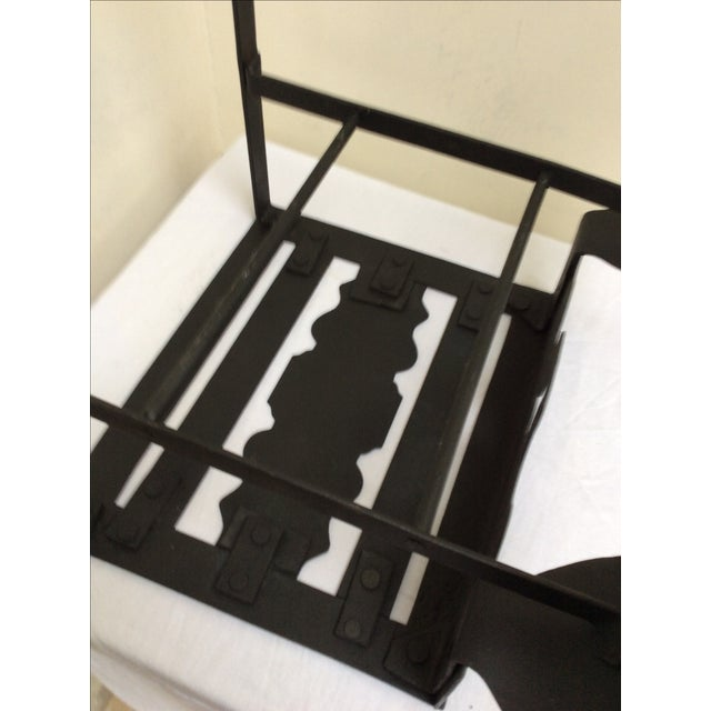 Mid-Century Modern Antique Kettle Stand For Sale - Image 3 of 8