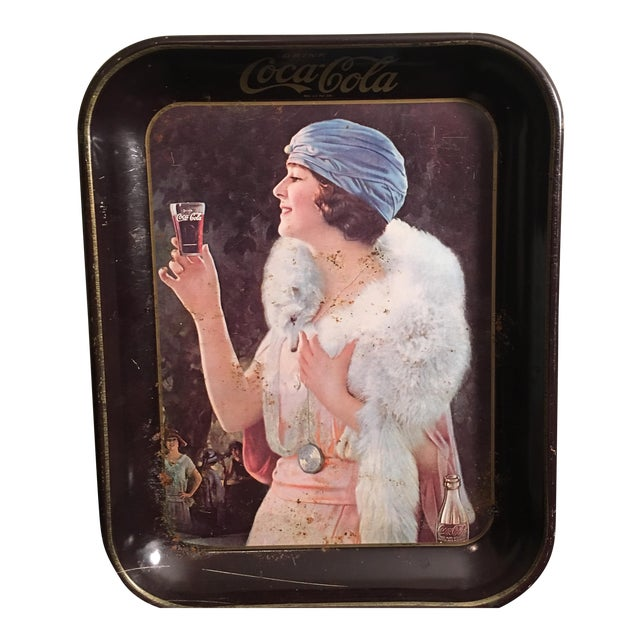 Vintage 1920's Coca-Cola Tray For Sale