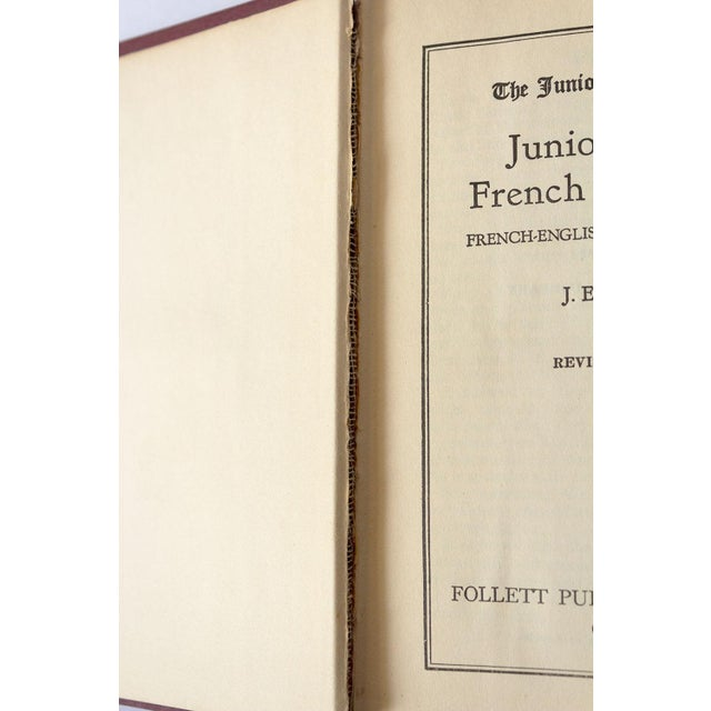 1940s Vintage French-English Dictionary For Sale In Dallas - Image 6 of 11