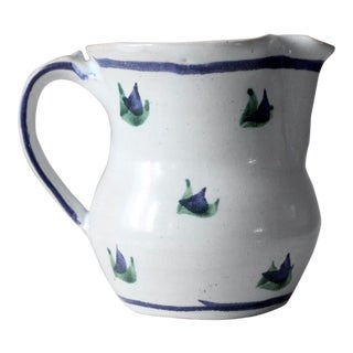 Alex Majeski Studio Pottery Pitcher 1989 For Sale