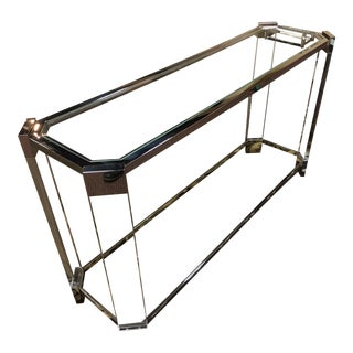Contemporary Mitchell Gold + Bob Williams Melrose Console Table For Sale