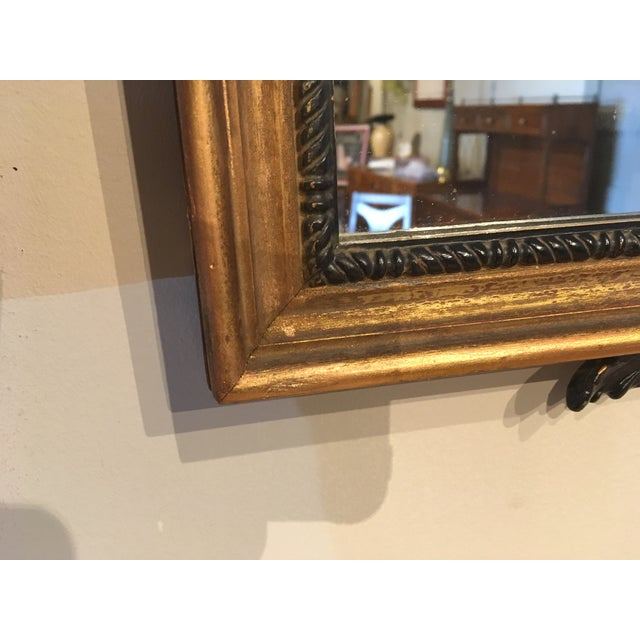Vintage Chippendale Style Wall Mirror For Sale In Chicago - Image 6 of 8