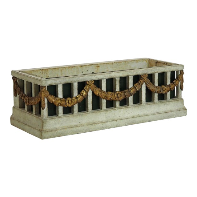 Gustavian Flower Container For Sale