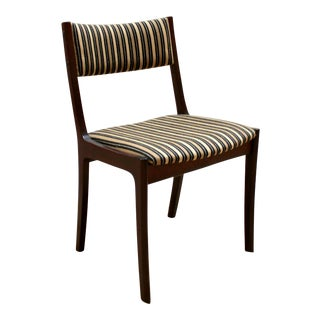 Danish Modern Solid Mahogany Dining Chairs, Attributed to Ole Wanscher, Circa 1950 - 6 Available For Sale