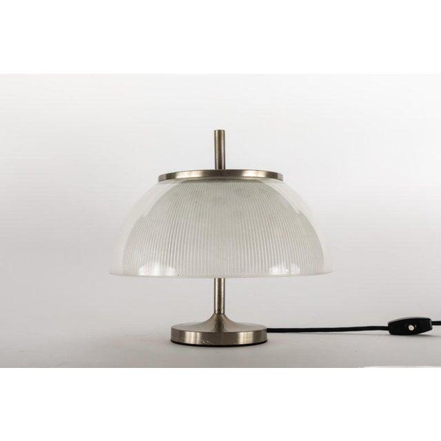 Art Deco 1960s Sergio Mazza for Artemide 'Alfetta' Table Lamp For Sale - Image 3 of 9