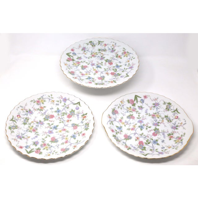 """Vintage """"Corona"""" Floral Chintz Serving Pieces by Sadek - Set of 3 For Sale - Image 11 of 11"""