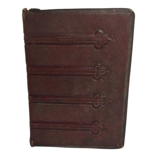 French Victorian Photo Album Cabinet Cards For Sale