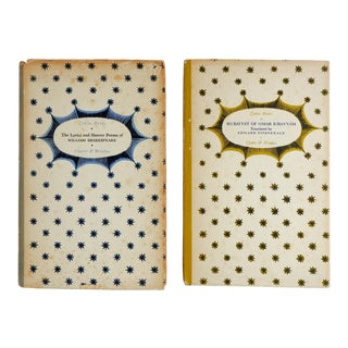 1930's Small Poetry Books - a Pair For Sale