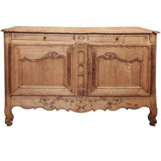 Mid-19th Century French Oak Sideboard Buffet Cabinet
