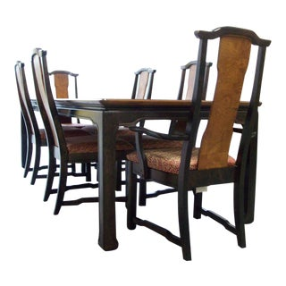 Ming Broyhill Premier Dining Set - 7 Pieces For Sale