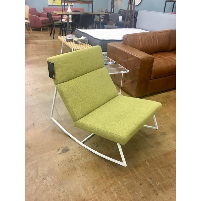Gus Modern Gt Rocking Chair in Dandelion For Sale In Atlanta - Image 6 of 6