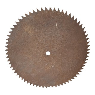 Antique MIll Saw Blade For Sale
