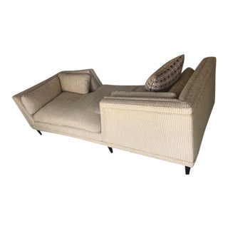 Jonathan Adler Reupholstered Tete a Tete For Sale