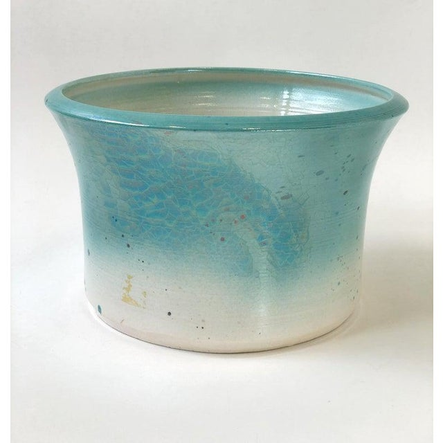 1980s Studio Ceramic Planter by Gary McCloy for Steve Chase For Sale - Image 5 of 8