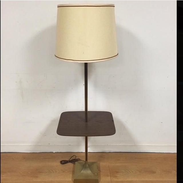 Mid-Century Table Floor Lamp - Image 2 of 8