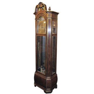 Herschede Tall Case Grandfather Clock For Sale