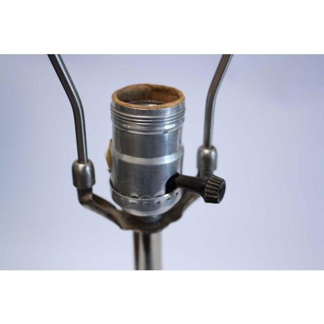 Laurel Lamp Co. Chrome Lamp Mid-Century - Image 6 of 7
