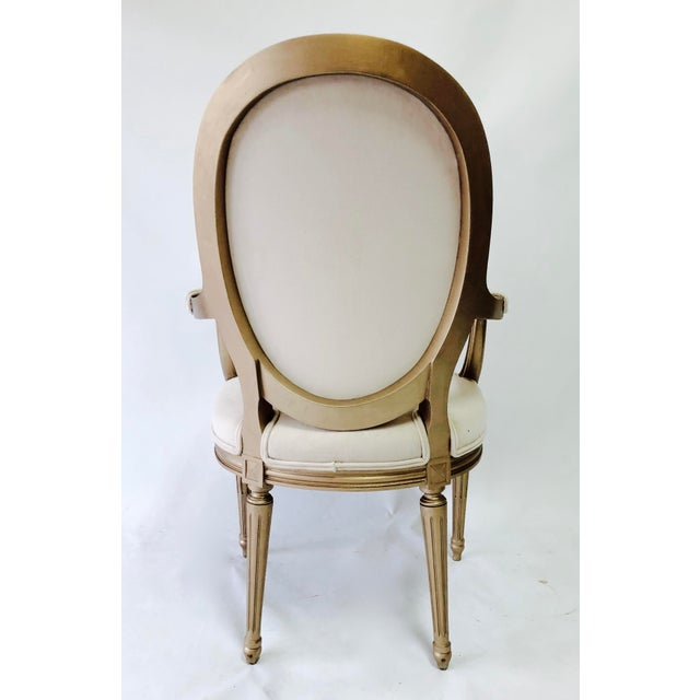 19th Century Vintage Painted Chairs - a Pair For Sale - Image 4 of 6