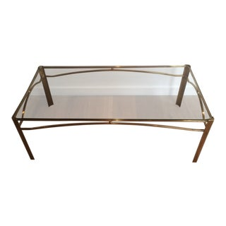 Mid-Century Modern Coffee Table Attributed to Jacques Quinet