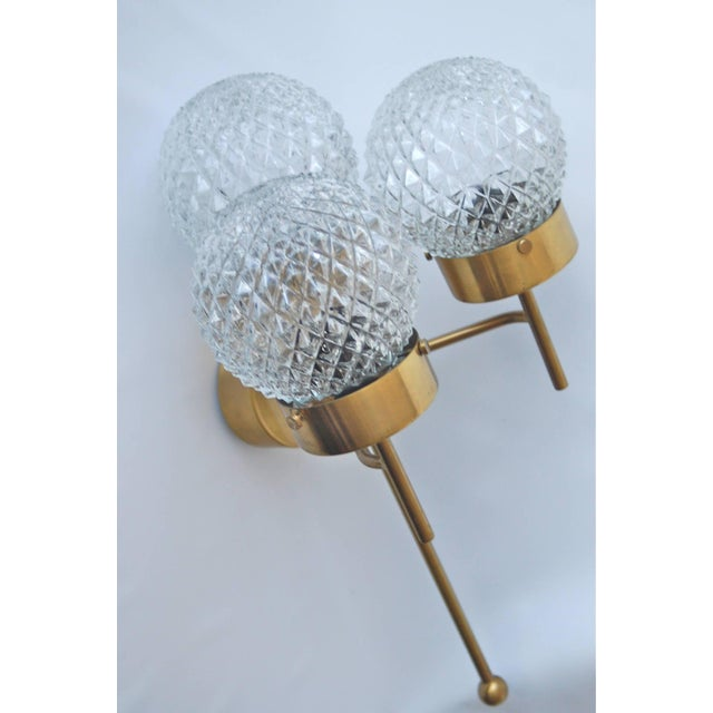 Hans-Agne Jakobsson Large and Rare Pair of Wall Lights by Hans-Agne Jakobsson For Sale - Image 4 of 11