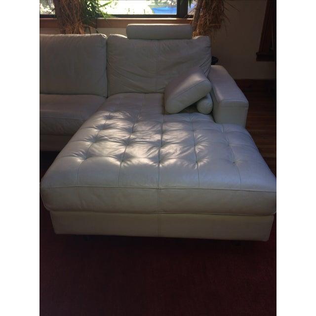 Denelli Italia White Modular Sofa - Image 5 of 6