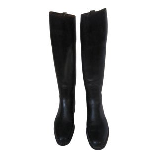 Vintage English Bespoke Riding Boots, Tom Hill - a Pair For Sale