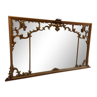 Italian Rococco Style Mirror For Sale