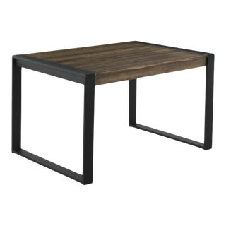 New Extendable Dining Table for Indoor and Outdoor With Wood Top For Sale