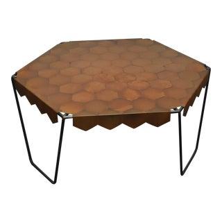 Oblik Studio Hexagonal Coffee Table For Sale