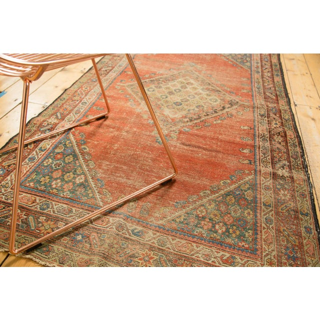 "Antique Fereghan Rug - 3'7"" X 6'1"" - Image 3 of 8"