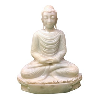 White Marble Buddha Statue For Sale