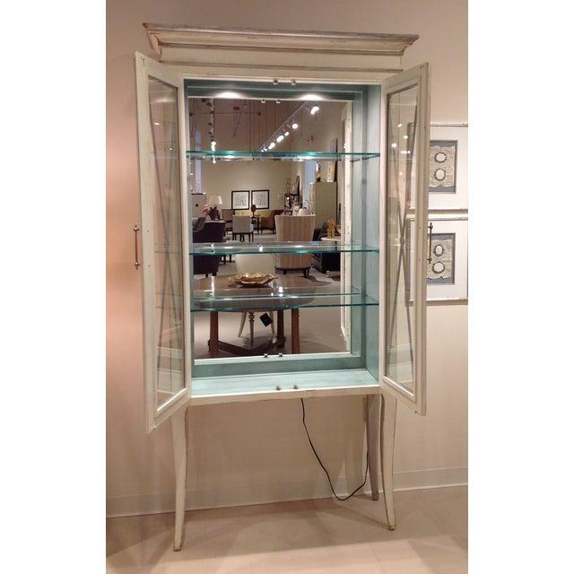 Habersham adrienne lighted display cabinet chairish for Habersham cabinets cost