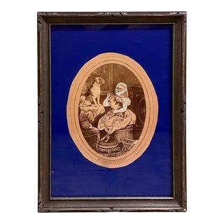 "Butch Anthony's ""Intertwanglelism"" Showcased in Mixed Media Artwork, Framed For Sale"