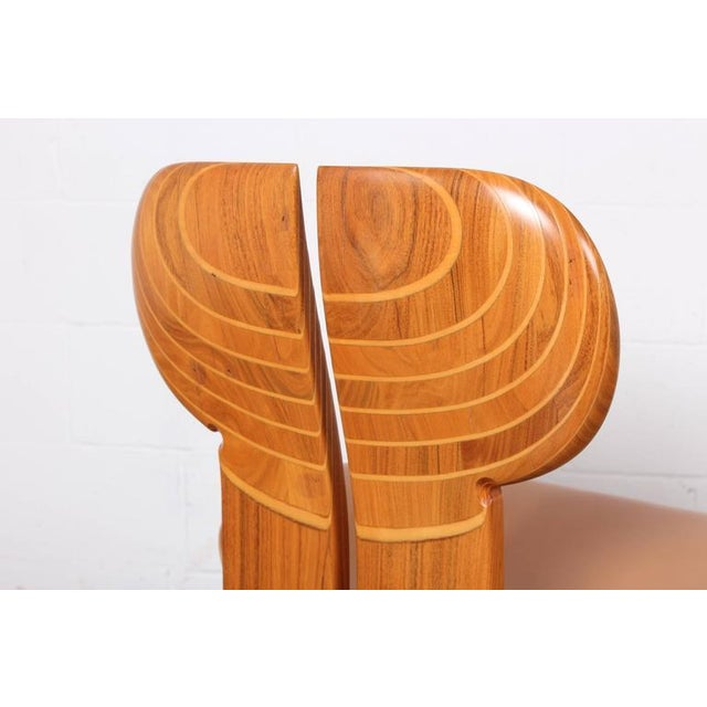 Four Africa Chairs by Afra & Tobia Scarpa For Sale In Dallas - Image 6 of 10