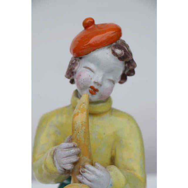1930s Figures by Hungarian Maria Rahmer- A Pair For Sale - Image 5 of 9