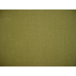 Robert Allen Beacon Hill Plush Mohair Citrine Upholstery Fabric- 9 1/4 Yards For Sale