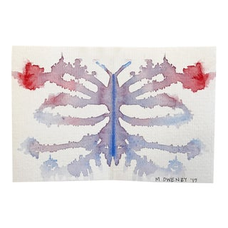 Michelle Owenby Inkblot 16 Watercolor Painting