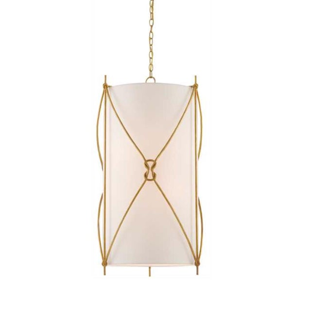 Brass Currey & Co. Large Ariadne Pendant Light For Sale - Image 7 of 7