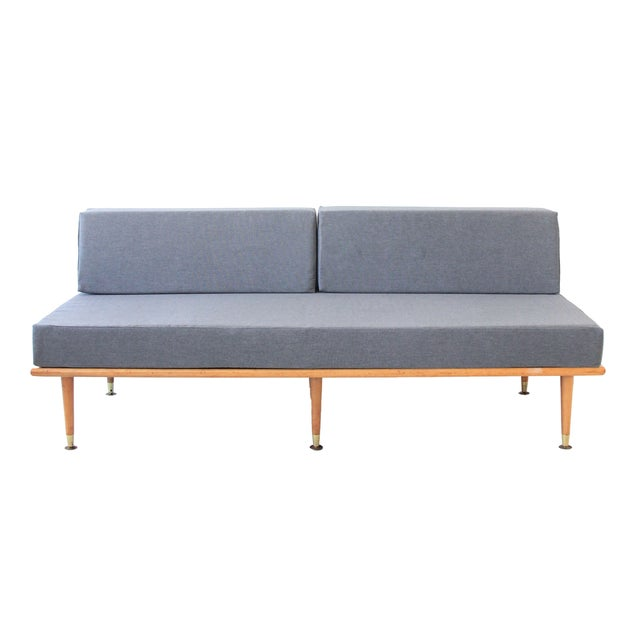 Mid-Century Modern Daybed in Granite Gray - Image 1 of 8