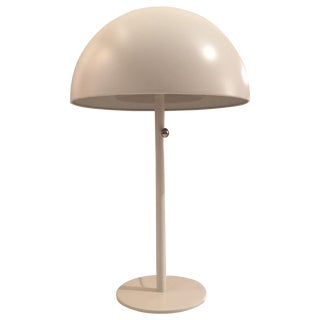 Modern White Orb Lamp