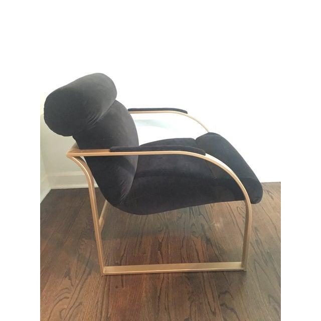 Milo Baughman Cantilever Chair - Image 2 of 4