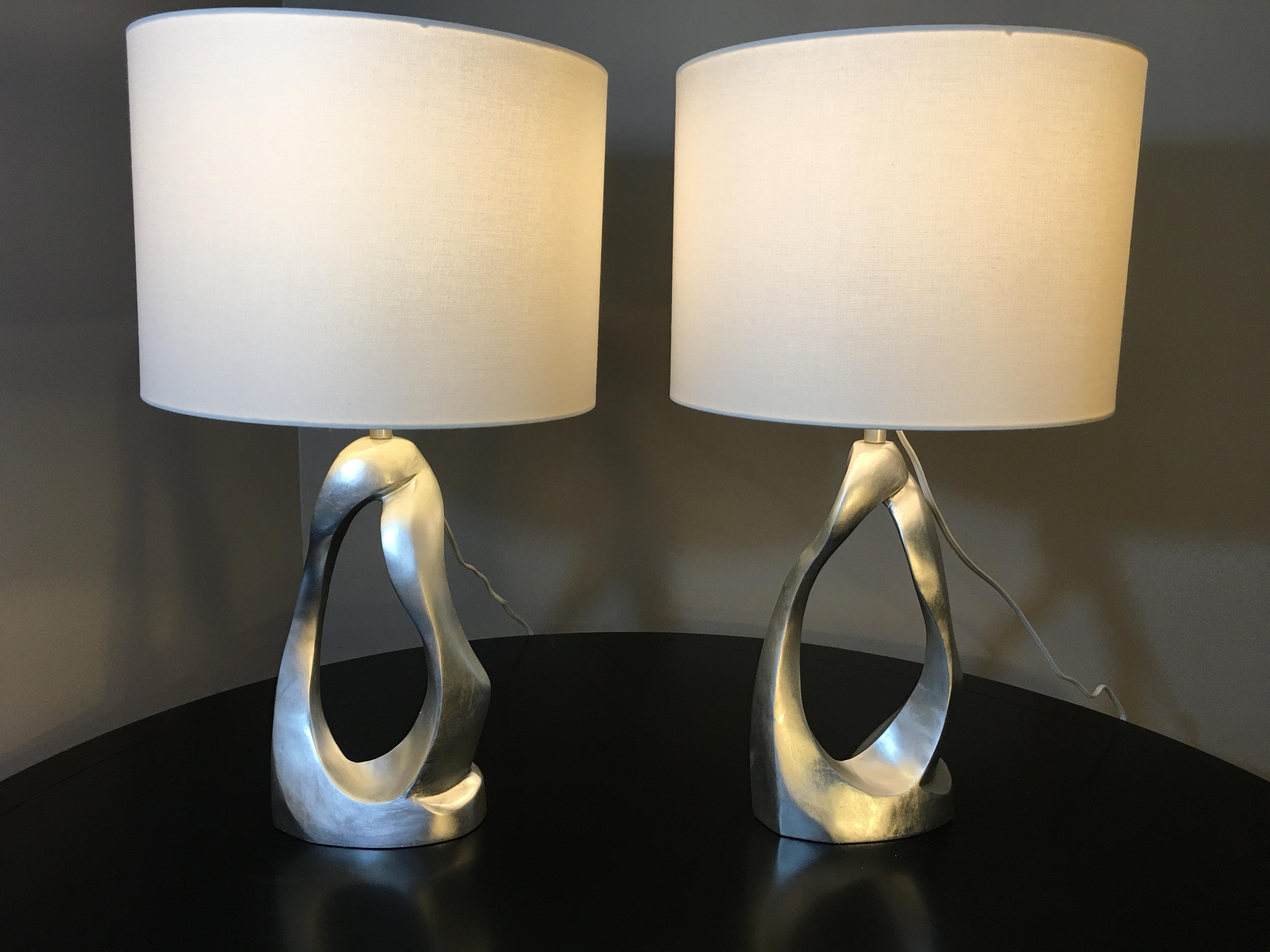 Aerin lauder for visual comfort cannes table lamps a pair image 4 of 9