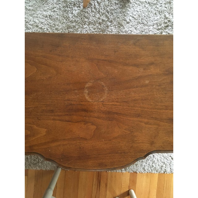 Chestnut Baker Furniture/Milling Road Bow-Front Chest of Drawers For Sale - Image 8 of 12