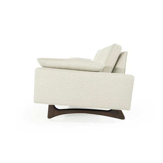 Danish Modern Adrian Pearsall for Craft Associates Model 2408 Sofa For Sale - Image 3 of 12