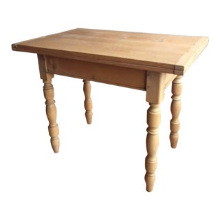 Italian Antique Pine Dining Table