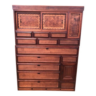 19th C Japanese Tansu Cabinet For Sale