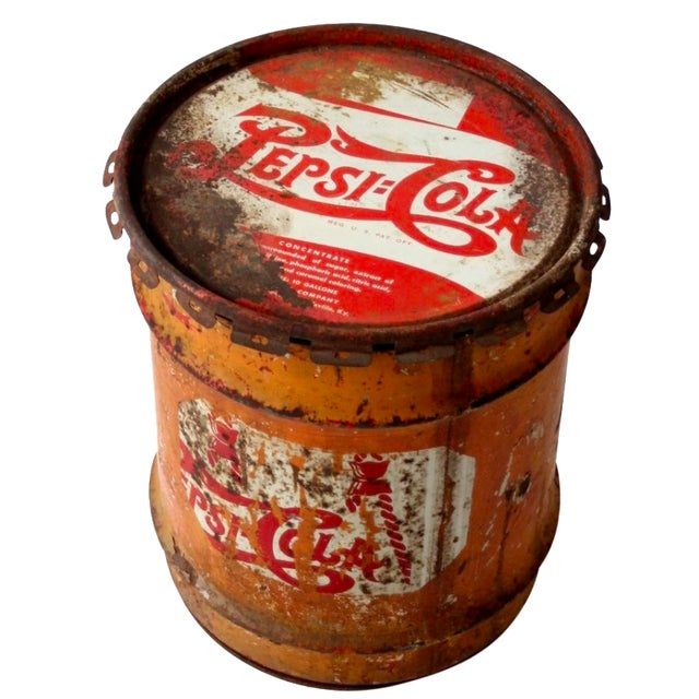 Vintage Pepsi-Cola Syrup Can For Sale