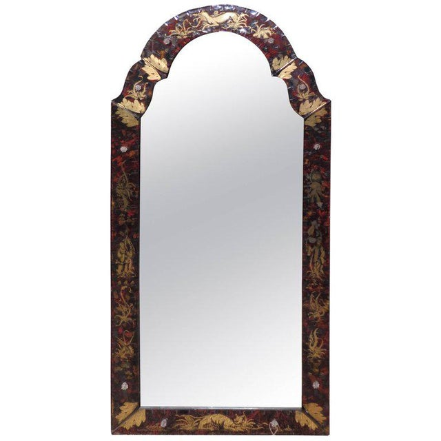 Venetian Glass Mirror For Sale - Image 11 of 11