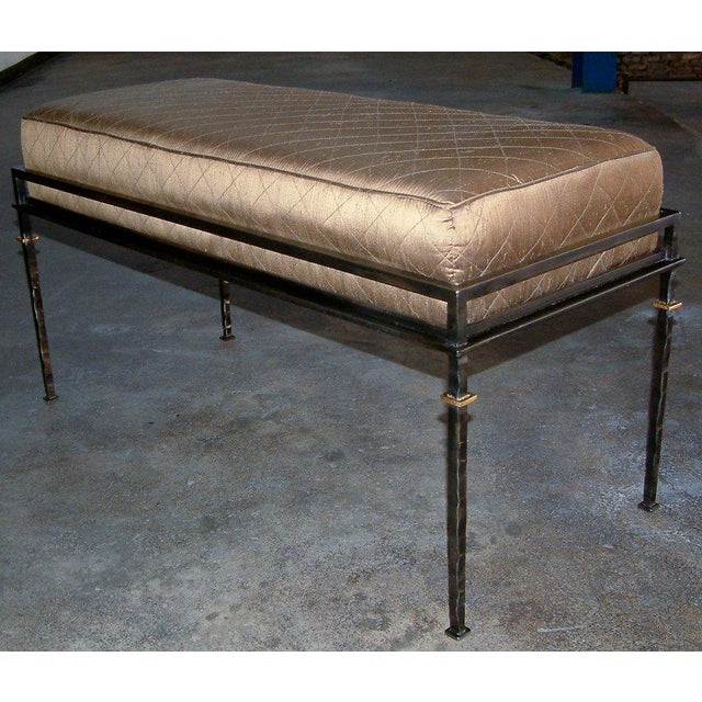 Contemporary 1999 United States Maurice Beane French Bench For Sale - Image 3 of 8